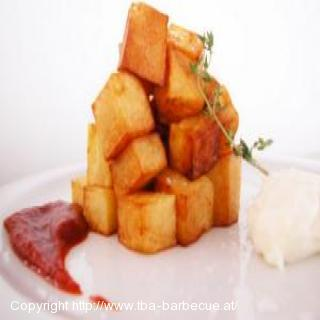 Authentische Patatas Bravas